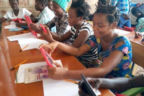 Kakumaa students in class